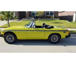 FOR SALE: 1975 MG MGB IN FORT WORTH, TEXAS