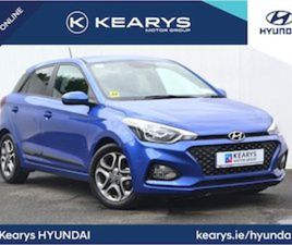 HYUNDAI I20 DELUXE PLUS 5DR - BEAUTIFUL BLUE - FI FOR SALE IN CORK FOR €18795 ON DONEDEAL