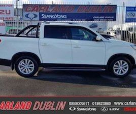 NEW SSANGYONG MUSSO STUNNING FOR SALE IN DUBLIN FOR €39999 ON DONEDEAL