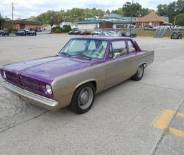 FOR SALE: 1967 PLYMOUTH VALIANT IN CONNELLSVILLE, PENNSYLVANIA