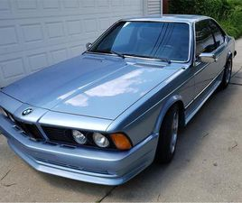 FOR SALE: 1979 BMW 6 SERIES IN CHICAGO, ILLINOIS