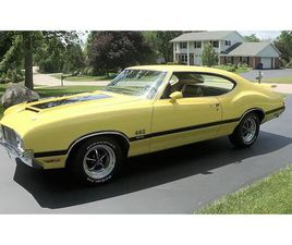 FOR SALE: 1970 OLDSMOBILE 442 W-30 IN BROOKFIELD, WISCONSIN