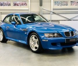 USED 2000 BMW Z3 COUPE 36,661 MILES IN ESTORIL BLUE FOR SALE   CARSITE