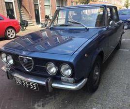 ALFA ROMEO 2000 2.0 BERLINA UIT 30-11-1971 AANGEBODEN DOOR ITALIA AUTO CORSE