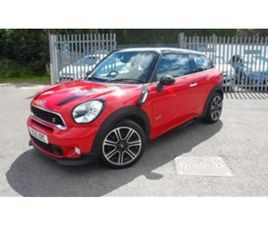 USED 2016 MINI PACEMAN 2.0 SD ALL4 3D 143 BHP JOHN COOPER WORKS BODY KIT COUPE 43,149 MILE