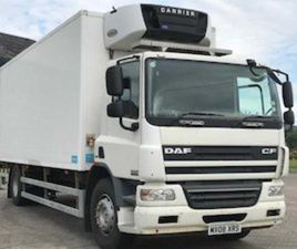 DAF CF220 FRIDGE TRUCK 4X2 MANUAL GEAR BOX FOR SALE IN ARMAGH FOR € ON DONEDEAL