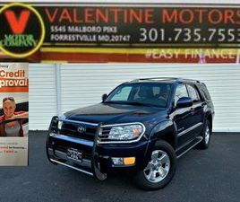2003 TOYOTA 4RUNNER LIMITED EDITION