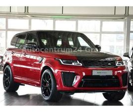 LAND ROVER RANGE ROVER SPORT SVR CARBON/PANO/HEAD-UP/PERFO