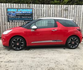 >SEP 2013 CITROEN DS3 1.6 E-HDI AIRDREAM DSTYLE PLUS 3DR