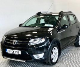 DACIA SANDERO STEPWAY SIGNATURE 1.5 DCI FOR SALE IN KILDARE FOR €10445 ON DONEDEAL