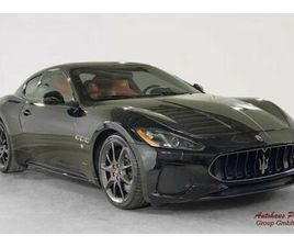 MASERATI GRANTURISMO S, 4.7 V8 SPORT, BLACK W/RED LEATHER
