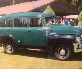 FOR SALE: 1954 GMC SUBURBAN IN CADILLAC, MICHIGAN