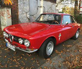 ALFA ROMEO GT 1750 VELOCE - 1750 - 1. SERIE - H+WERTGUTACHT