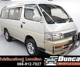 FOR SALE: 1994 TOYOTA HIACE IN CHRISTIANSBURG, VIRGINIA