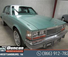 FOR SALE: 1977 CADILLAC SEVILLE IN CHRISTIANSBURG, VIRGINIA