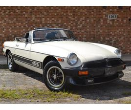 FOR SALE: 1980 MG MGB IN BARRINGTON, ILLINOIS