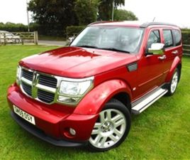 USED 2009 DODGE NITRO CRD SXT NOT SPECIFIED 58,000 MILES IN RED FOR SALE | CARSITE