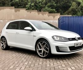 USED 2017 VOLKSWAGEN GOLF 2.0 GTD 5D 181 BHP HATCHBACK 89,000 MILES IN WHITE FOR SALE | CA