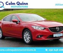 MAZDA 6 2.2D 150PS EXECUTIVE SE 4DR FOR SALE IN WESTMEATH FOR €12995 ON DONEDEAL