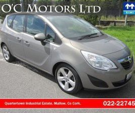 OPEL MERIVA 1.3 CDTI SC 75HP FOR SALE IN CORK FOR €5350 ON DONEDEAL