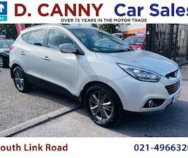 HYUNDAI IX35 1.7 DIESEL EXECUTIVE 2WD 115HP FOR SALE IN CORK FOR €12750 ON DONEDEAL
