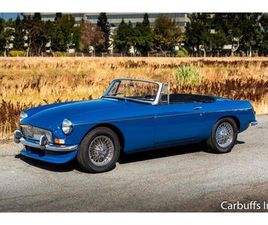 FOR SALE: 1965 MG MGB IN CONCORD, CALIFORNIA