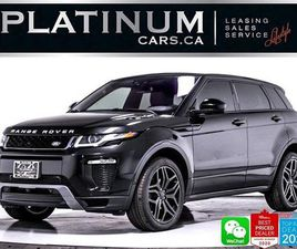 USED 2017 LAND ROVER EVOQUE HSE DYNAMIC, NAV, CAM, LEATHER, HEATED, BLINDSPOT