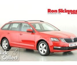 USED 2017 SKODA OCTAVIA 1.4 SE TSI 5D 148 BHP ESTATE 49,309 MILES IN RED FOR SALE | CARSIT