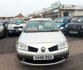 2006 RENAULT MEGANE 1.9 DCI DIESEL 130 DYNAMIQUE ESTATE FROM £2,395 + RETAIL PAC