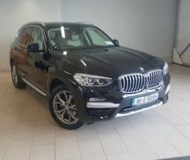 BMW X3 LOW MILES XDRIVE20D XLINE BLACK / IVORY FOR SALE IN GALWAY FOR €43950 ON DONEDEAL