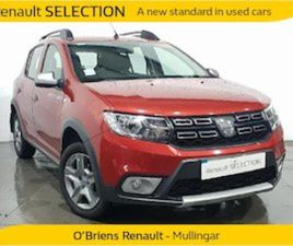 DACIA SANDERO STEPWAY ALTERNATIVE 1. FOR SALE IN WESTMEATH FOR €11950 ON DONEDEAL