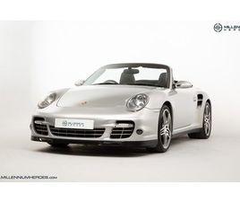 PORSCHE 911 (997) TURBO CAB // FACTORY PCCB // GEN 1.5 TURBO // SPORTS CHRONO PLUS