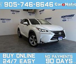 USED 2017 LEXUS NX 200T EXECUTIVE | AWD | LEATHER | NAV | ROOF | ONLY 39KM