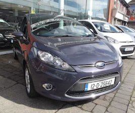 FORD FIESTA 1.4 TDCI TITANIUM 2012 IRISH NEW FOR SALE IN DUBLIN FOR €7350 ON DONEDEAL