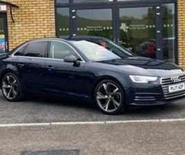 USED 2017 AUDI A4 SE ULTRA TDI SALOON 70,000 MILES IN BLUE FOR SALE | CARSITE