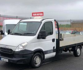 IVECO DAILY, 2013 FLATBED DROPSIDE FOR SALE IN MEATH FOR €7000 ON DONEDEAL
