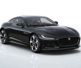 JAGUAR F-TYPE 5.0 P450 SUPERCHARGED V8 FIRST EDITION 2DR AUTO PETROL COUPE