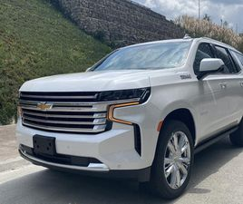 CHEVROLET TAHOE HIGH COUNTRY BLINDADA NIVEL 3