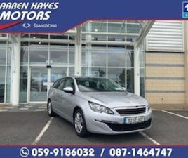 PEUGEOT 308 ACTIVE BLUEHDI 120 STOP-START FOR SALE IN CARLOW FOR €12945 ON DONEDEAL