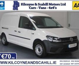 2017 VOLKSWAGEN CADDY MAXI *FROM €70 PW* FOR SALE IN MAYO FOR €10703 ON DONEDEAL