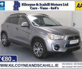 2017 MITSUBISHI ASX 1.6 DIESEL *FROM €80 PW* FOR SALE IN MAYO FOR €18750 ON DONEDEAL