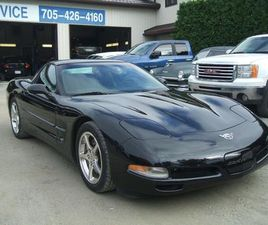 USED 2003 CHEVROLET CORVETTE 50TH ANNIVERSARY, GLASS TOP, 6 SPEED, ONLY 3687 KM