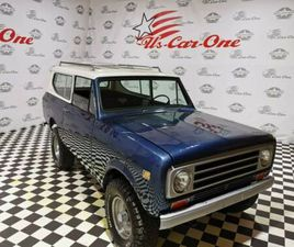 ANDERE 73ER INTERNATIONAL SCOUT VOLLCABRIO 4X4 V8 TOP!