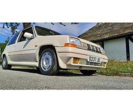 1986 RENAULT R5 GT TURBO