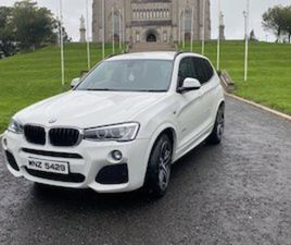 2016(162) BMW X3 2.0D M-SPORT XDRIVE 5 DOORS FOR SALE IN ARMAGH FOR €17900 ON DONEDEAL