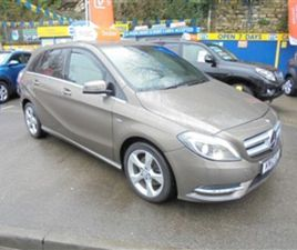 USED 2012 MERCEDES-BENZ B CLASS CDI BLUEEFFICIENCY SPORT MPV 77,727 MILES IN BRONZE FOR SA