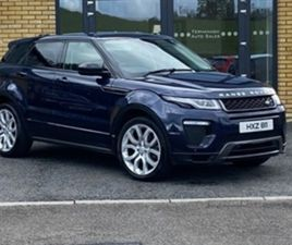 USED 2016 LAND ROVER RANGE ROVER EVOQUE RHSE DYN TD NOT SPECIFIED 65,000 MILES IN BLUE FOR