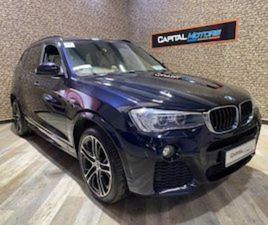BMW X3 X-DRIVE M-SPORT 20D CAR NUM 87 FOR SALE IN DUBLIN FOR €27950 ON DONEDEAL