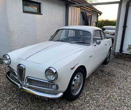 ALFA ROMÉO GIULIETTA SPRINT 1300 UPGRADED TO 1600 VELOCE