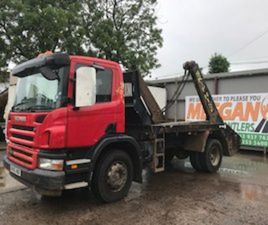 SCANIA P SERIES SCANIA P310 TELESCOPIC SKIP LOADE FOR SALE IN LOUTH FOR € ON DONEDEAL
